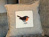 The Loyal Robin cushion