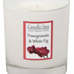 30cl Pomegranate & Whte Fig Candle