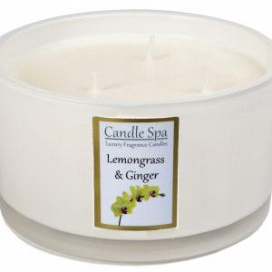 3-Wick Lemongrass & Ginger