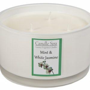 3-Wick Mint & White Jasmine