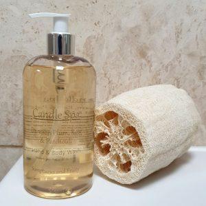 Damson Plum Rose Patchouli Liquid Soap