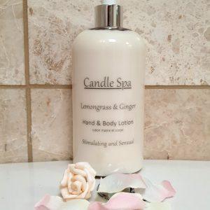 Lemongrass & Ginger Hand & Body Lotion