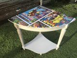 Avengers vintage corner table